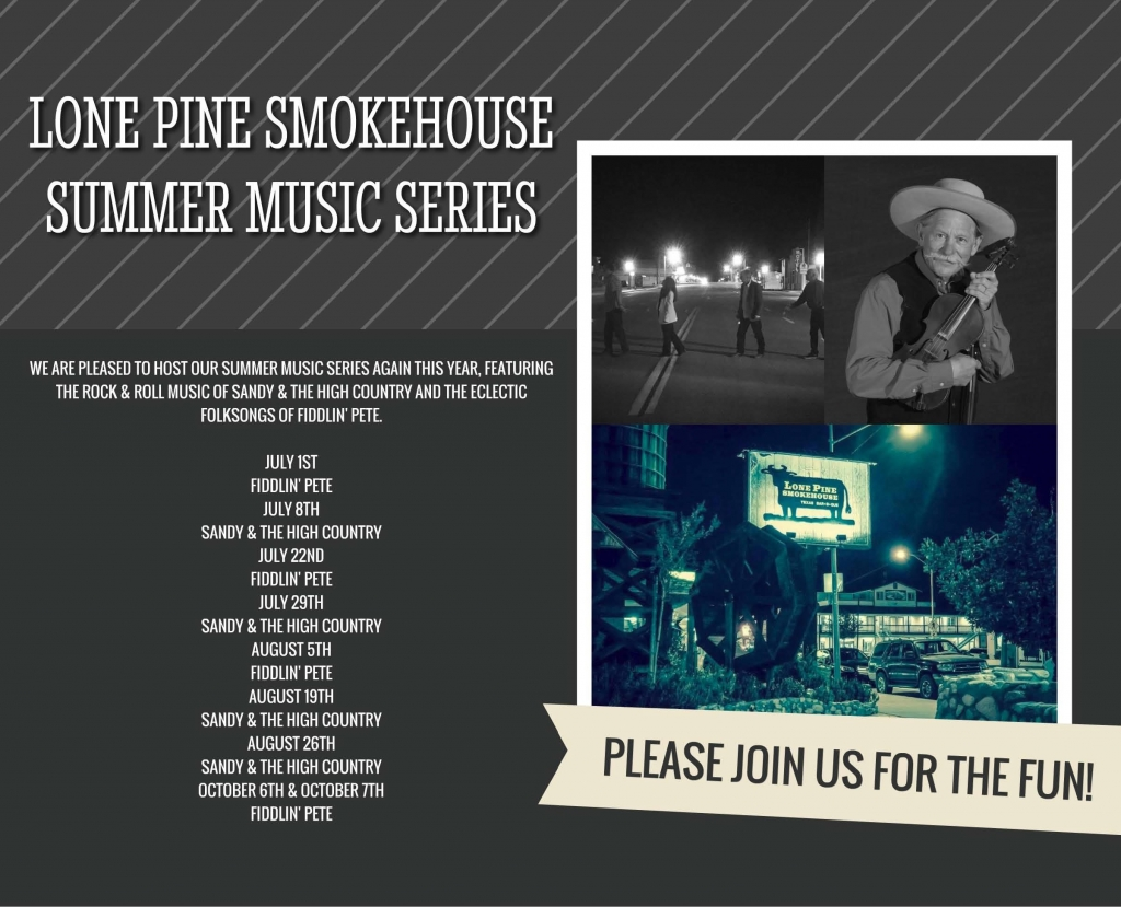 Live Music in Lone Pine at the Smokehouse