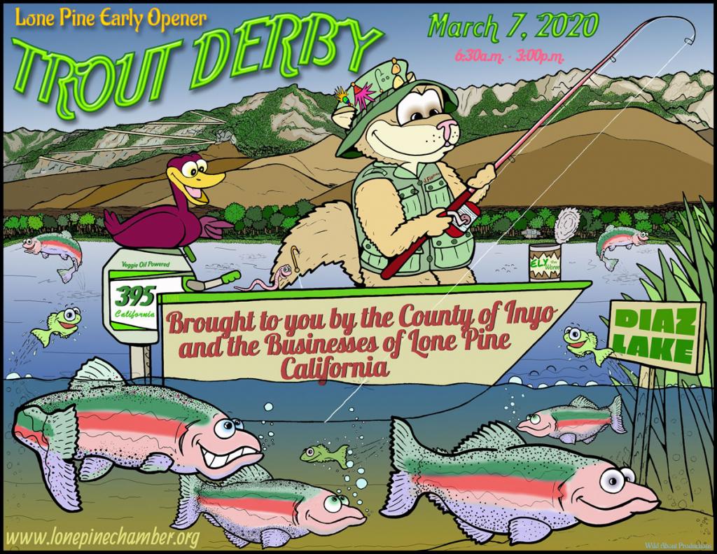 Trout Derby Kids Flyer