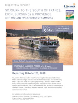 International Cruises with Lone Pine Chamber of Commerce