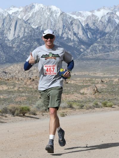 runner eastern sierra lone pine