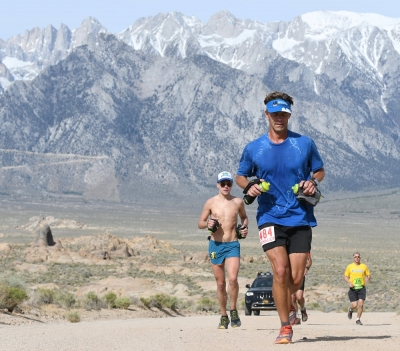 Runners eastern sierra