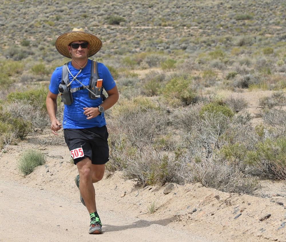 runner lone pine