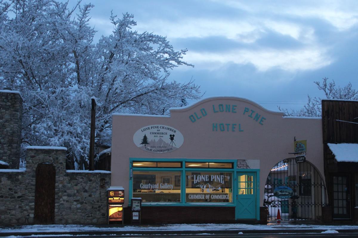 Snowy Lone Pine Chamber